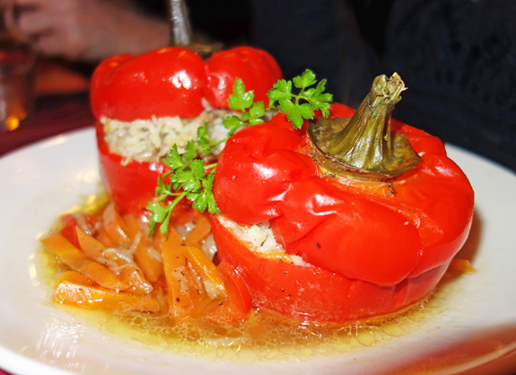 Chez Mademoiselle - Stuffed Peppers
