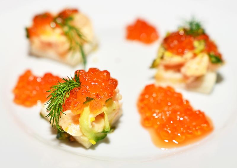 U Modré Kachničky II - Salmon Roe Toast