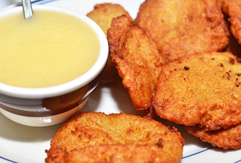 Sammy's Roumanian Steakhouse - Potato Latkes