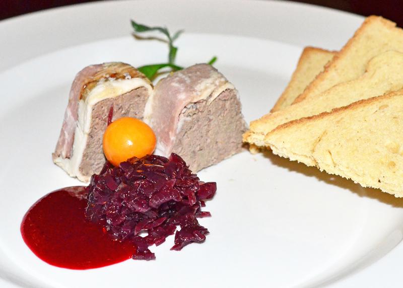 Restaurant Charleston - Duck pâté