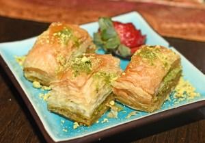 Russian Cuisine - Kapowski's - Pistachio Baklava