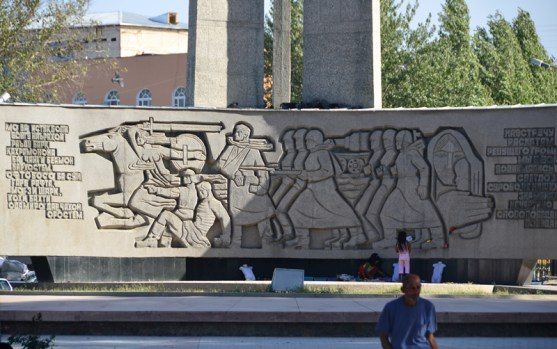 Khojand - WW2 Monument