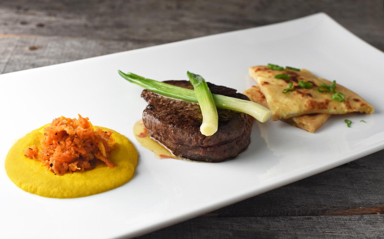 Kazakh Cuisine - Almaty-Style Horse Steak, with Markovka and Khychin