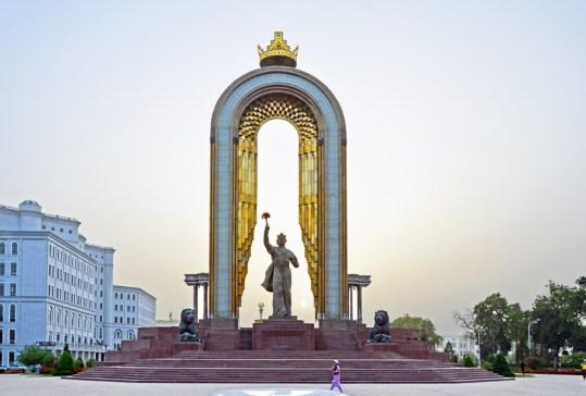 Dushanbe - Ismail Samani Monument