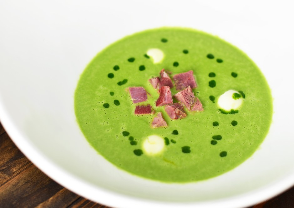Central European Ramp Cream Soup