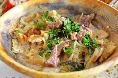 Dushanbe - Shaftoluzor Restaurant - Qurutob