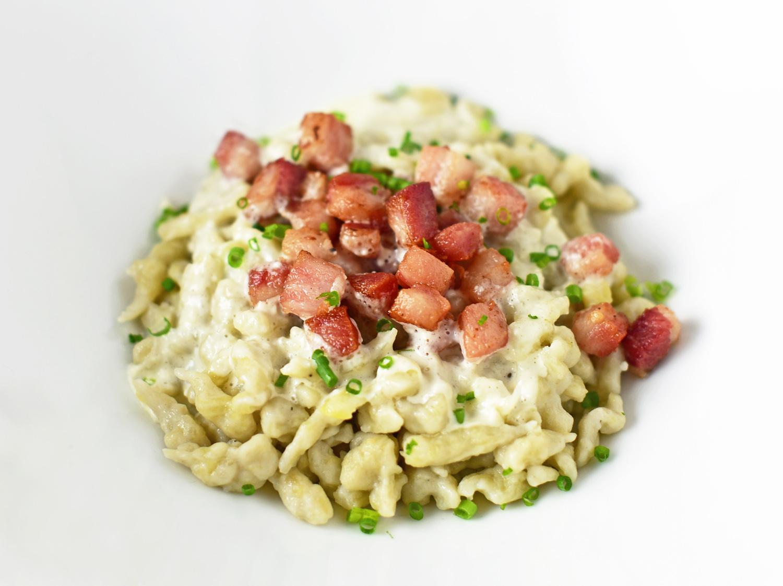 Slovak Food - Bryndzové Halušky