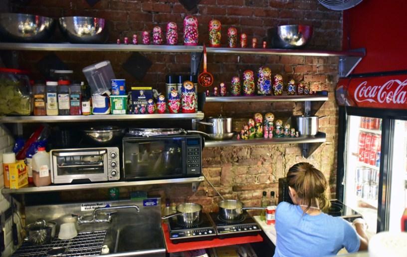 Russian Food - Babushka Café