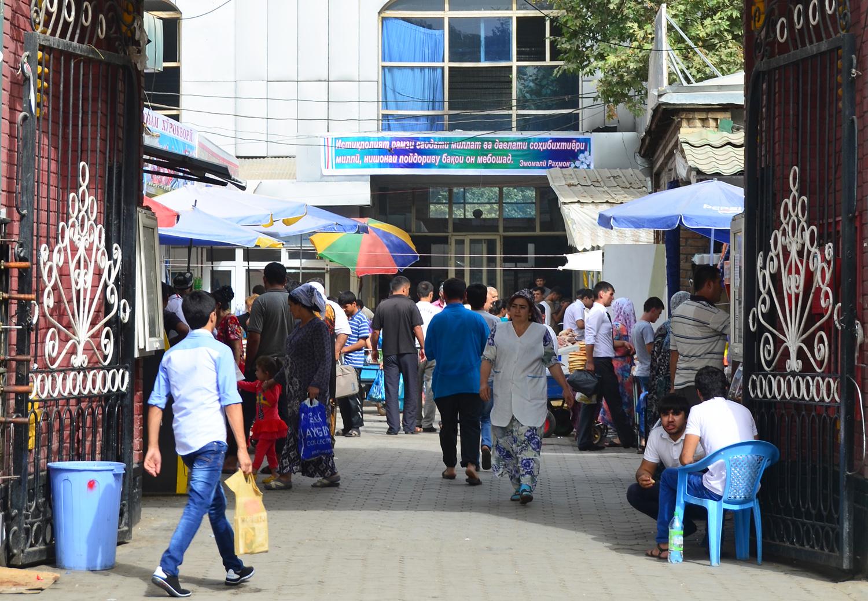 Dushanbe - Shah Mansur Bazaar