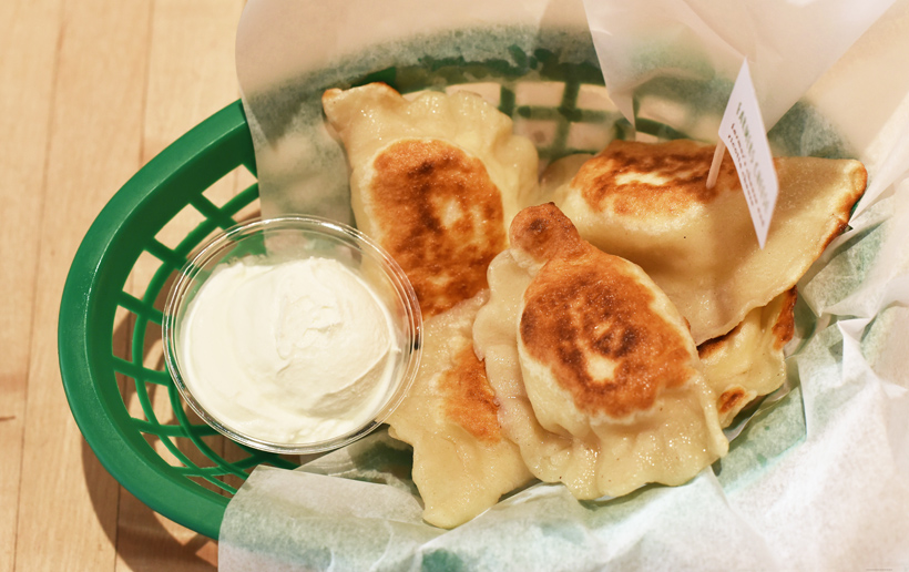 Slovak Food - Baba's Pierogies - Cheese Pierogies