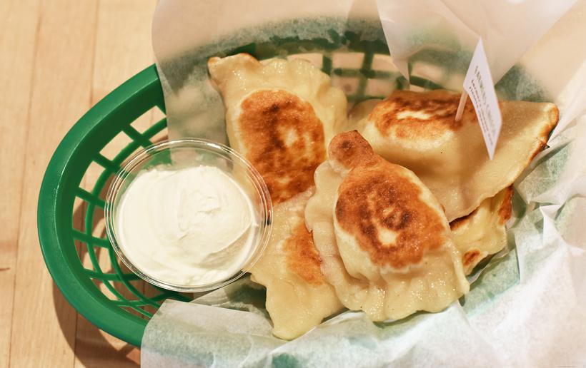 Slovak Food - Baba's Pierogies - Cheese Pierogies