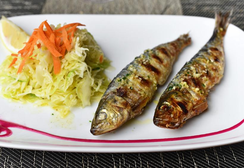 New Rochelle - Dubrovnik Restaurant - Grilled Sardines