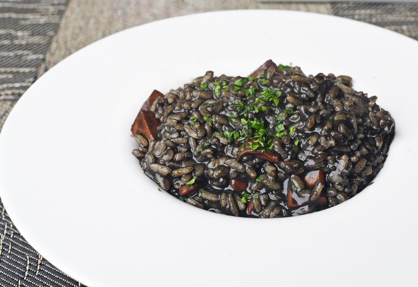 New Rochelle - Dubrovnik Restaurant - Adriatic Cuttlefish Risotto