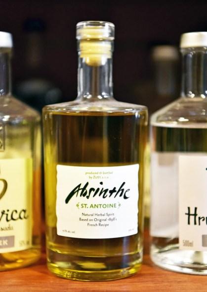 Czech Republic - Žufánek Distillery - Saint Antoine Absinthe