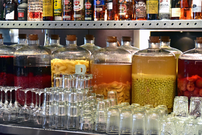 London - Baltic Restaurant - Flavored Vodkas