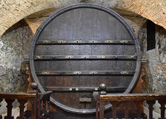 Moravia - Milkulov Castle - Wine Cellar