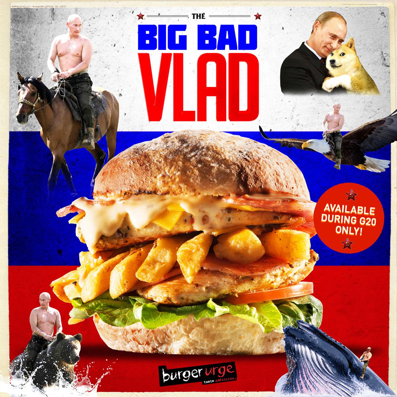 Big Bad Vlad Burger