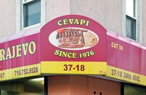 Bosnian Food - Cevabdzinica Sarajevo