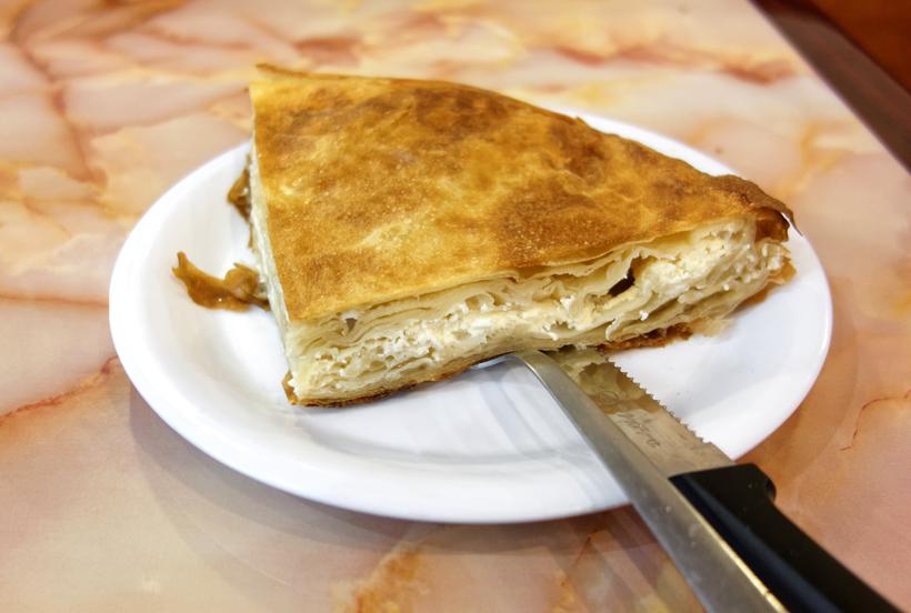 Cevabdzinica Sarajevo - Cheese Burek