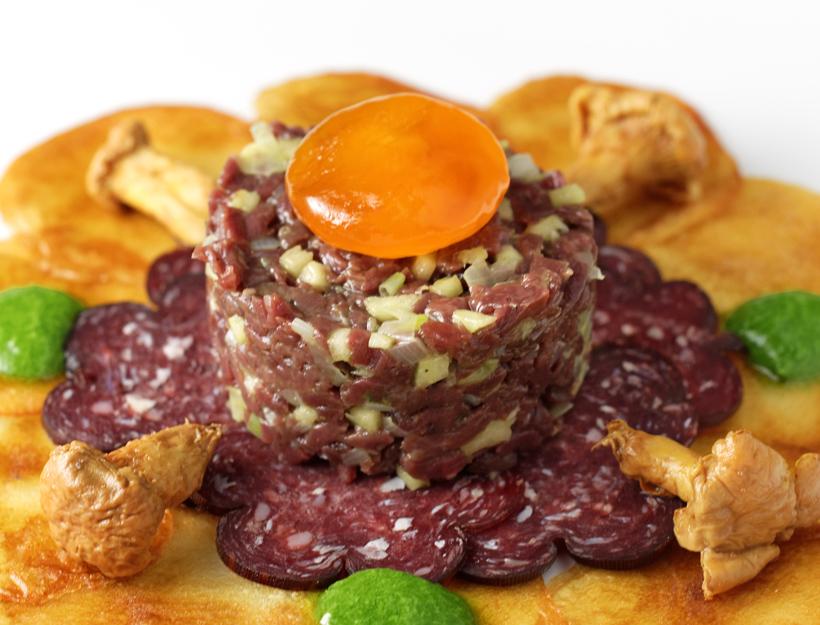 Russian Cuisine - Reindeer Tartare