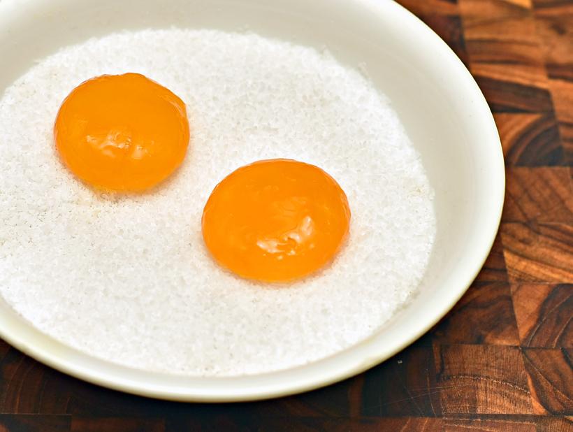 Russian Cuisine - Reindeer Tartare - Cured Egg Yolk