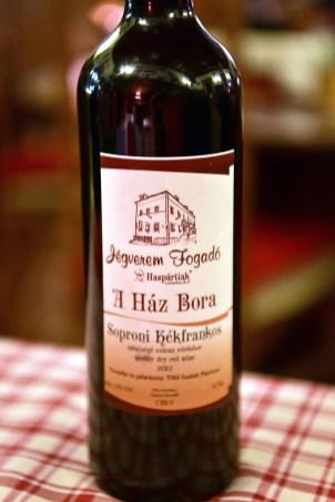 Sopron - Jégverem Inn - House Wine