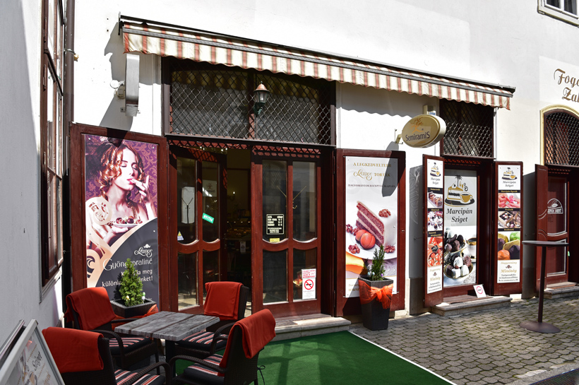 Sopron - Szamos Pastry Shop