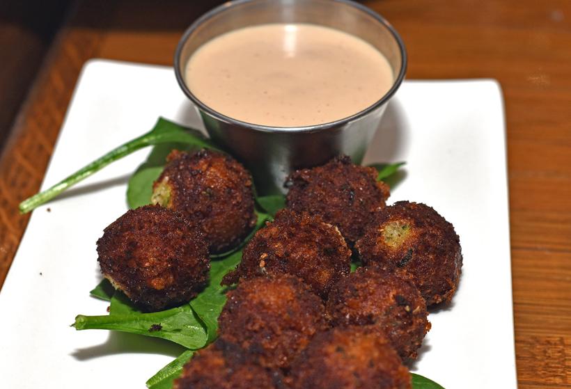 Georgian Cuisine - Cheeseboat - Squash Nuggets