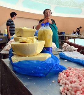 Tashkent - Chorsu Bazaar - Fat