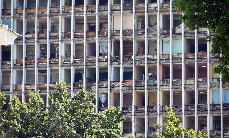 Tashkent - Abandoned Building on Buyuk Turon St.