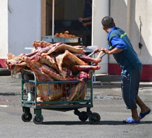 Tashkent - Chorsu Bazaar - Meat