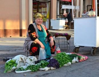 Samarkand - Siyob Bazaar - Herbs
