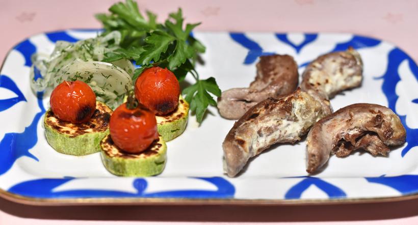 Moscow - Uzbekistan Restaurant - Lamb Tongue Shashlyk