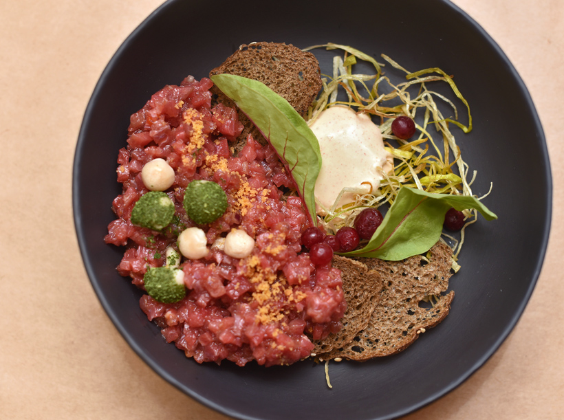 Russian Food - Lavkalavka - Beer Tartare