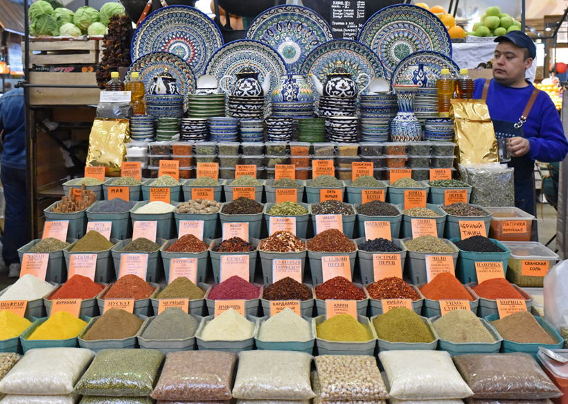 Moscow - Danilovsky Market - Spices