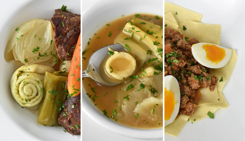 Dagestani Cuisine - Khinkal