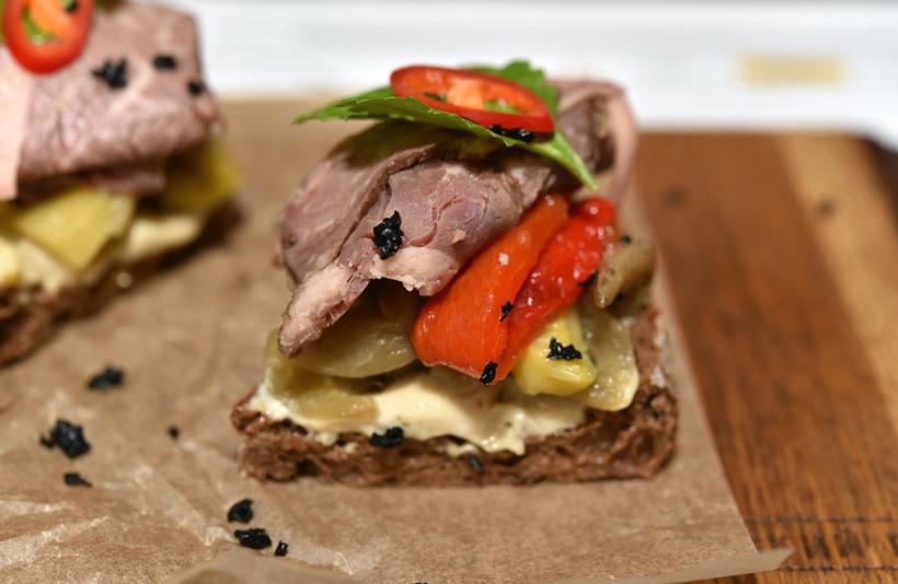Moscow - Russian Pub - Corned Beef Sandwich