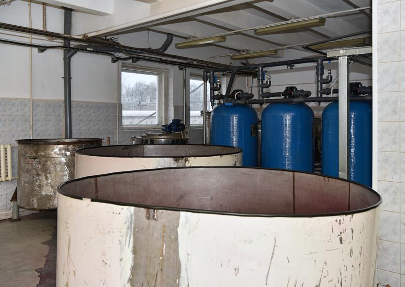 Petrovsky Liquor Factory - Berry Vats