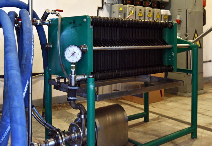 Petrovsky Liquor Factory - Filter Press