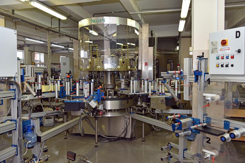 Petrovsky Liquor Factory - Bottling Line