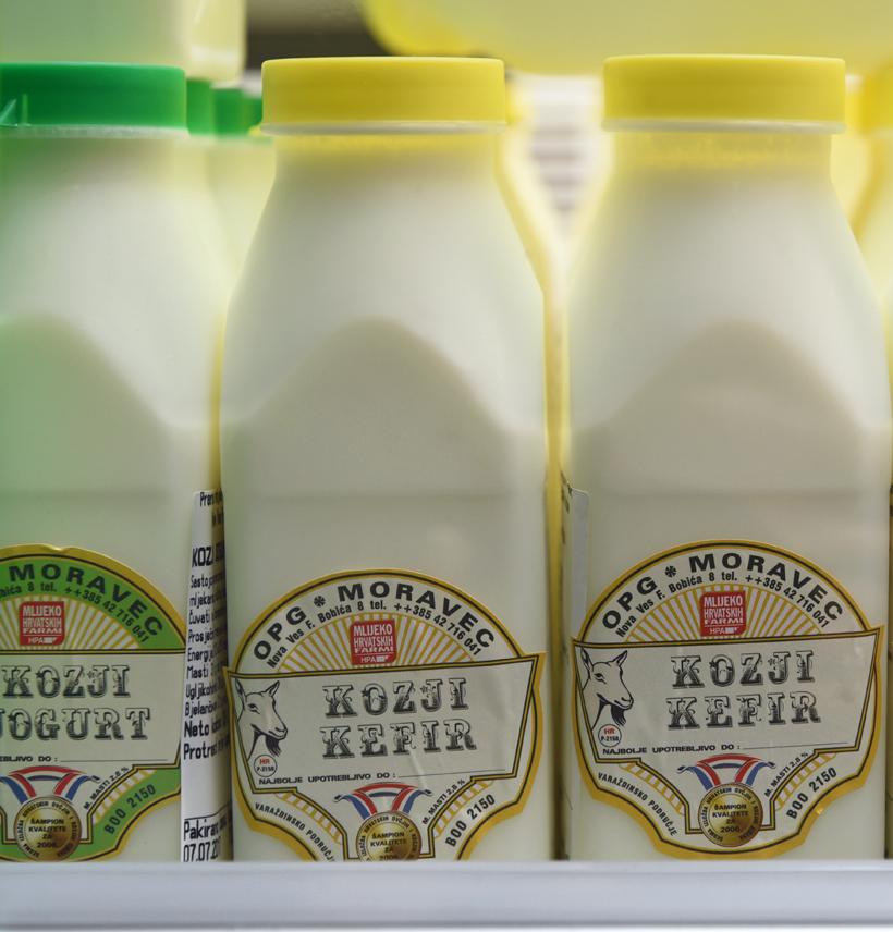 Zagreb - Dolac Market - Dairy