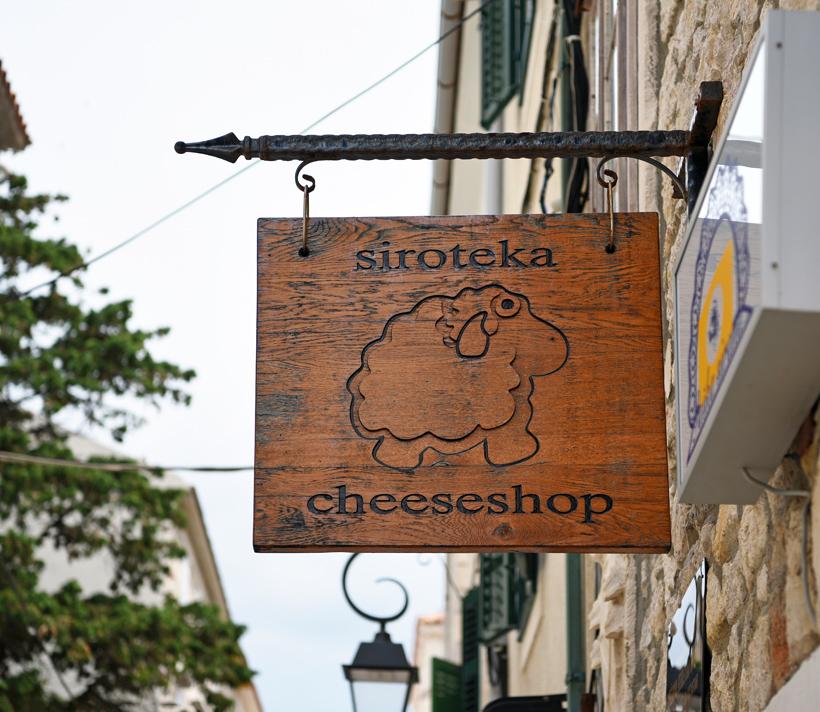Pag Island - Siroteka Cheese Shop