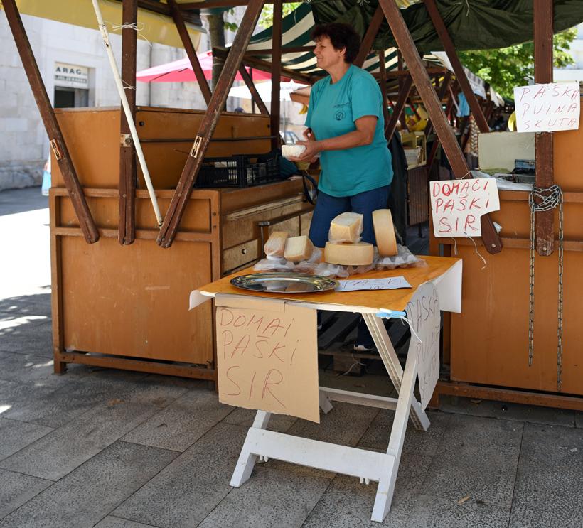 Zadar Green Market - Pag Cheese