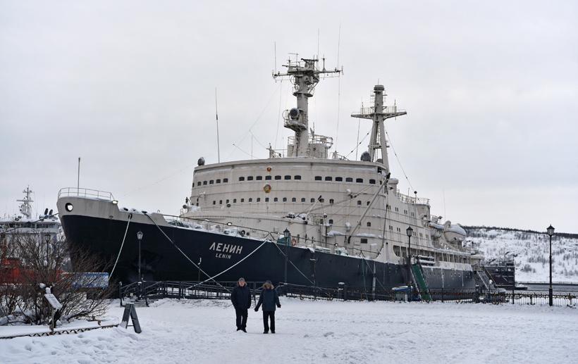 Murmansk - Lenin Nuclear Icebreaker