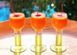 papaya whisky slushy