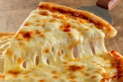 Gooey Melty Thin Crust Cheese Pizza