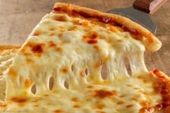 Gooey Melty Thin Crust Cheese Pizza