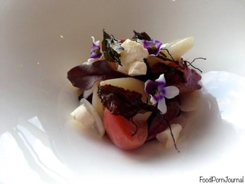 Quay Sydney cherry salad