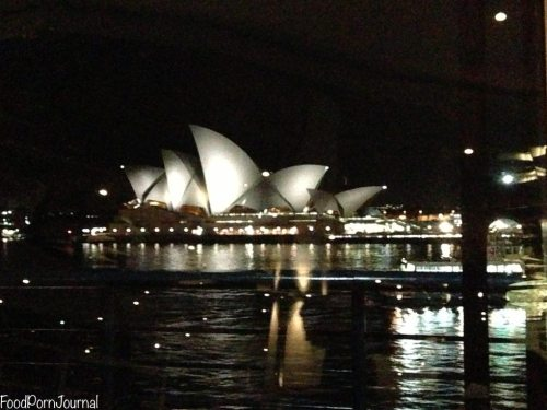 View from Quay Sydney