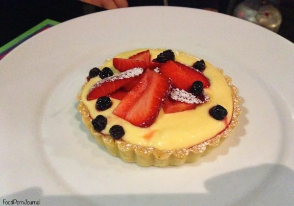 Cafe Sopra Sydney lemon tart